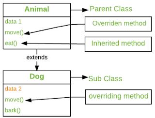 overriding method java