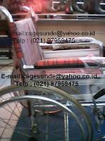 jual kursi roda almunium sella dengan harga miring
