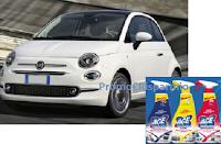 Logo Concorso '' Con Ace puoi vincere un elegante auto da città '' : vinci Fiat 500 Dualogic POP