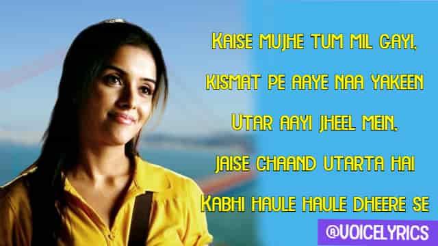 Kaise Mujhe Tum Mil Gayi Lyrics for quotes