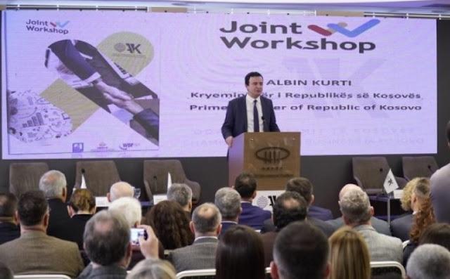 Albin Kurti: elimineremo tutte le barriere commerciali con l'Albania e la Macedonia del Nord