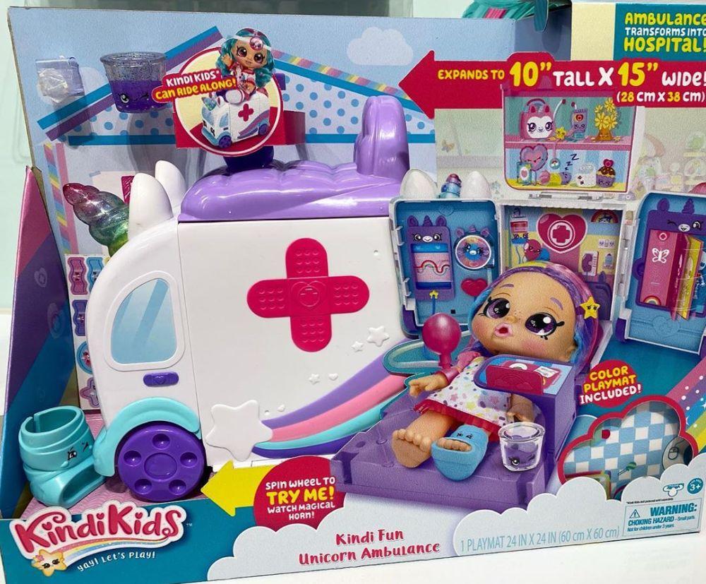 Игровой набор больница и скорая помощь Kindi Fun Unicorn Ambulance