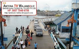 Jual ANTENA TV WAJANBOLIC Tanjung Uban Bintan Utara
