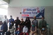 LSM SIGAB Mitra PPWI Bersama FPII dan PAMPD DKI Gelar Santunan Yatim dan Dhuafa