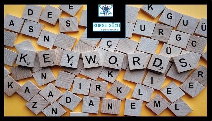 Adsense En Çok Kazandıran Türkçe Kelimeler - Kurgu Gücü