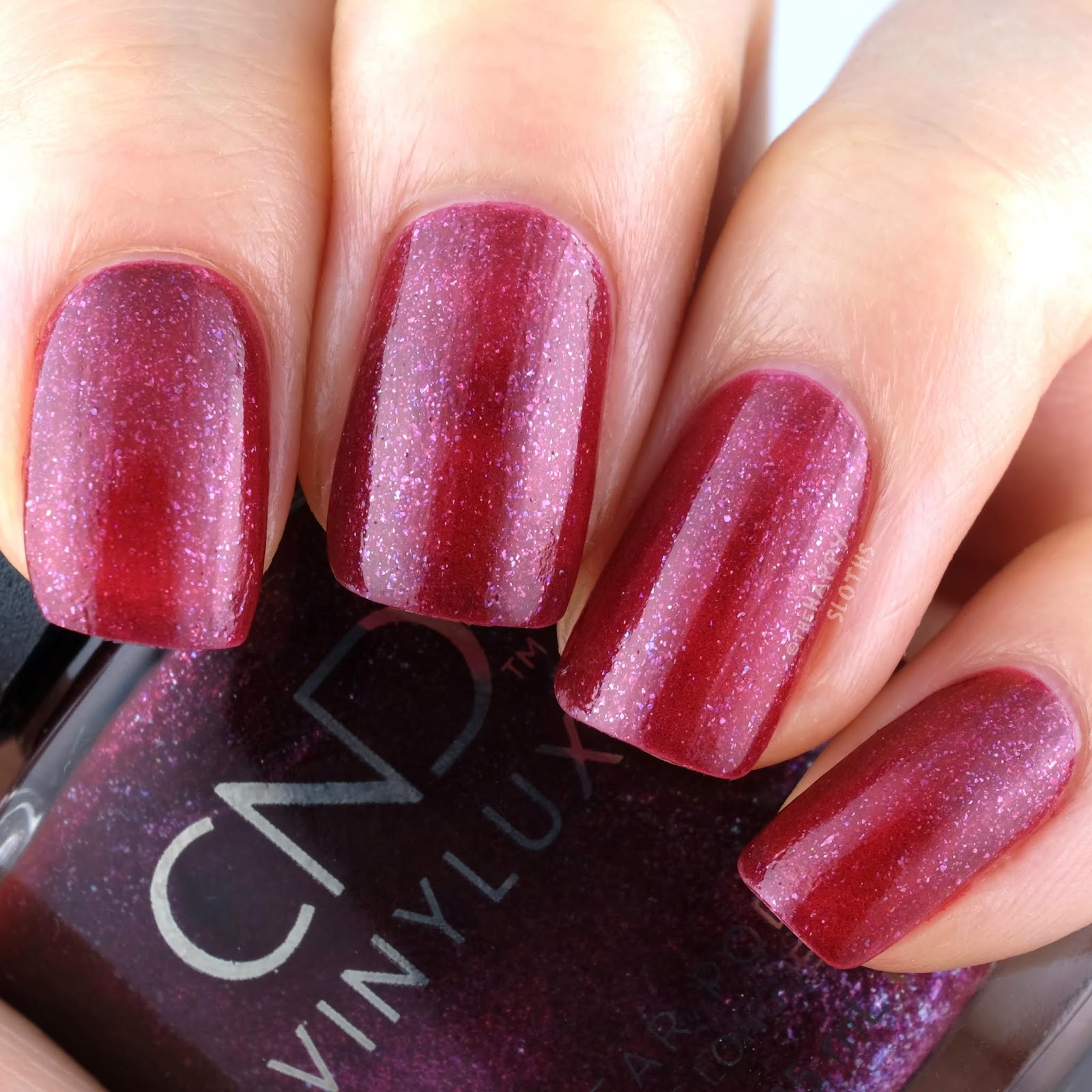CND | Holiday 2019 Crystal Alchemy Collection | Rebellious Ruby: Review and Swatches