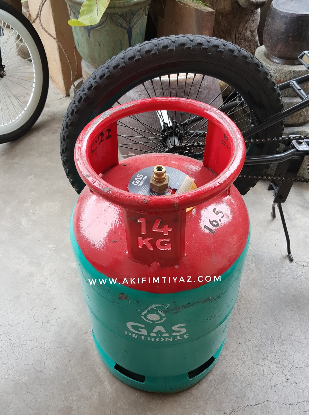 Servis Penghantaran Gas Memasak Petronas Ke Rumah