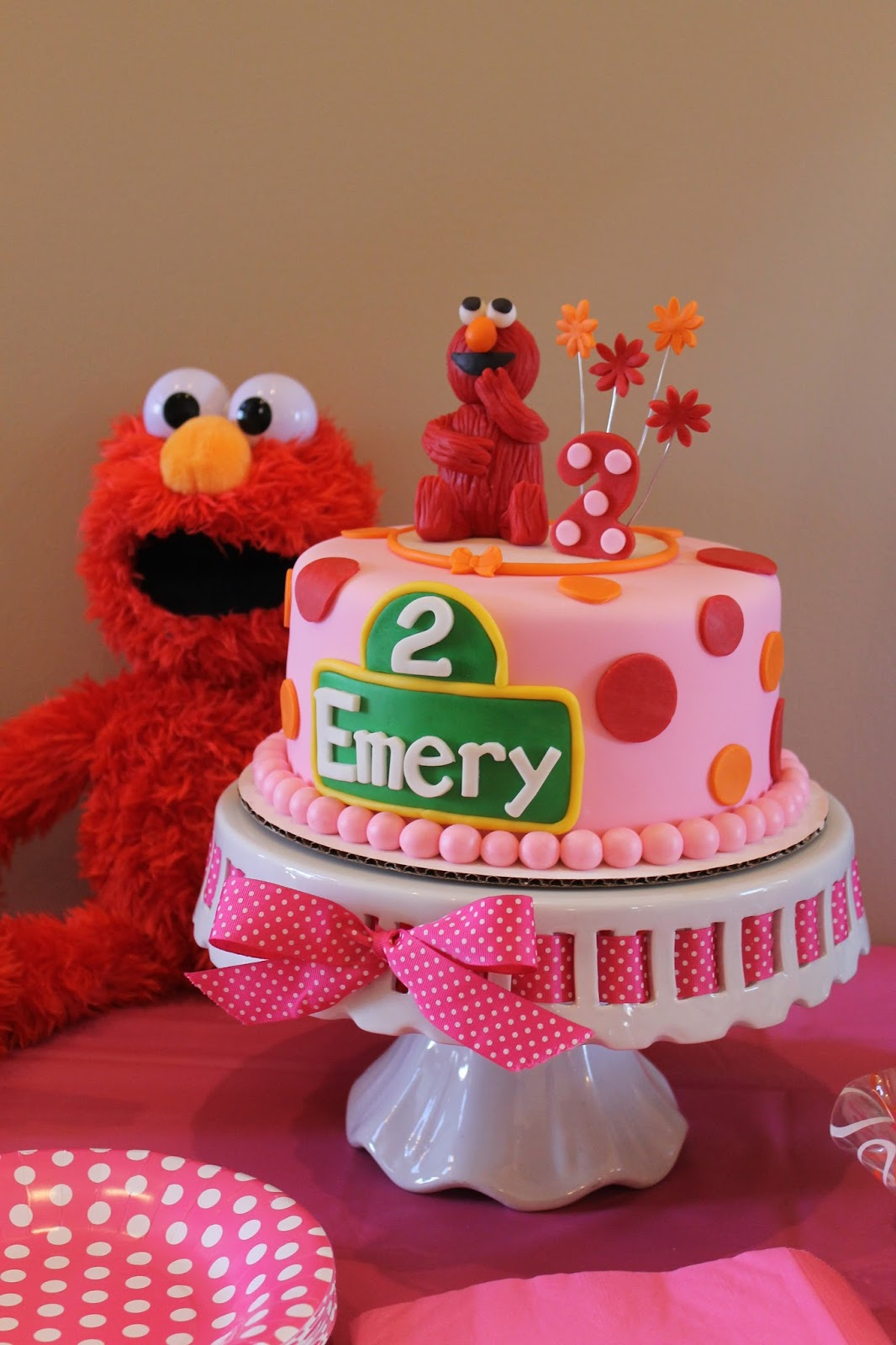 Richly Blessed Emery Turns Two Elmo Birthday Party