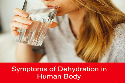 Symptoms of Dehydration in Human Body