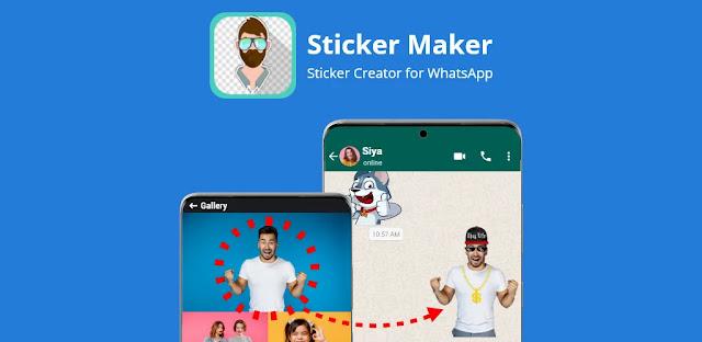 تنزيل Sticker Maker  - تطبيق صنع الملصقات WhatsApp لنظام الاندرويد