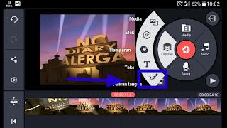cara menandai text atau objek untuk membuat video tutorial di android
