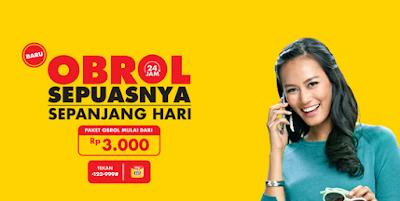 Paket Obrol 24 Jam Indosat terbaru