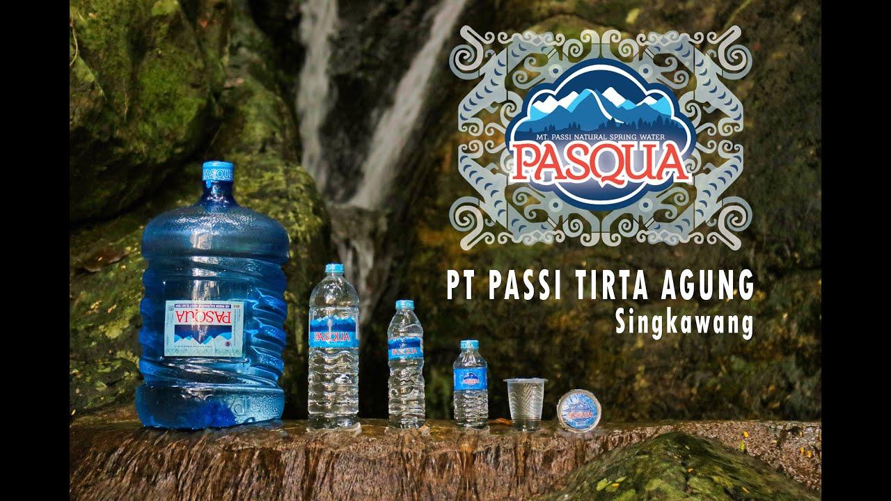 Pasqua Borneo Air Minum Asli Kalimantan
