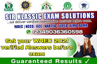 Free waec and neco answers