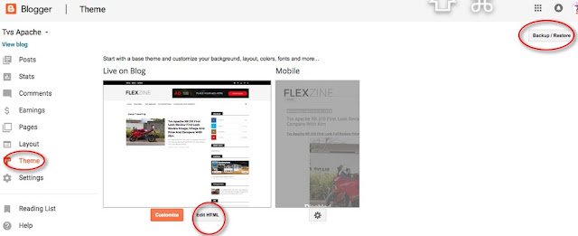 How To Install And Setup Flat Mag Theme On Your Blog: