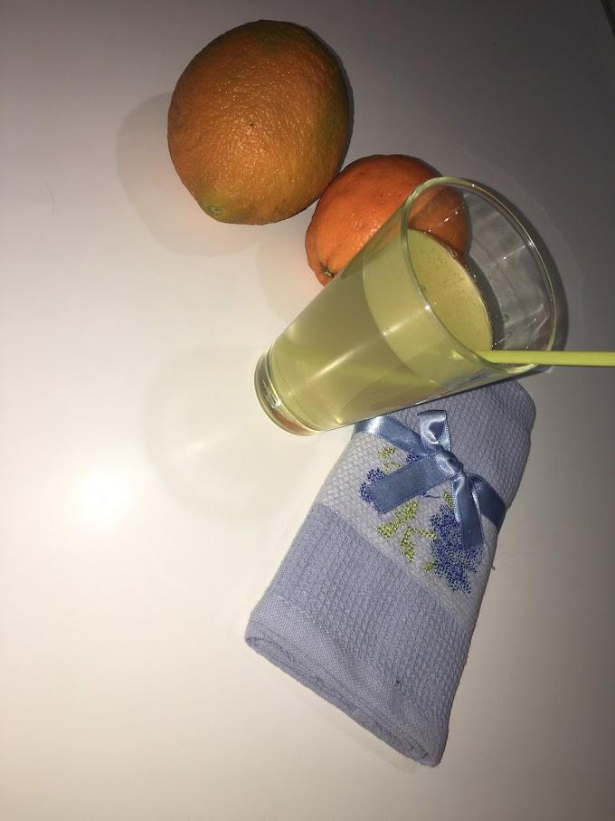 Brzi osvezavajuci sok od narandze i limuna