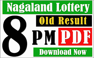 old result, nagaland state lottery old result, nagaland lottery old result, 8pm dear old result, dear lottery old result, nagaland night 8pm old