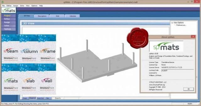 StructurePoint spMats Free Download