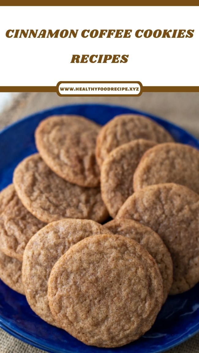 CINNAMON COFFEE COOKIES RECIPES