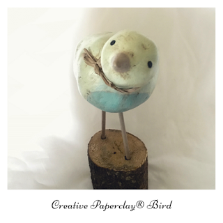 Paperclay Bird