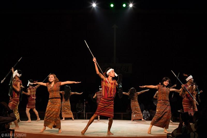 Sarlamkai Folk Dance Mizoram