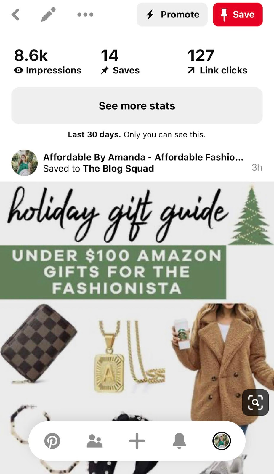 How to Make Your First $100 on LIKEtoKNOW.it as an Influencer | Amazon Holiday Gift Guide For Men on Pinterest