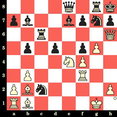 Les Blancs jouent et matent en 4 coups - Kornel Havasi vs William Rivier, La Hague, 1928