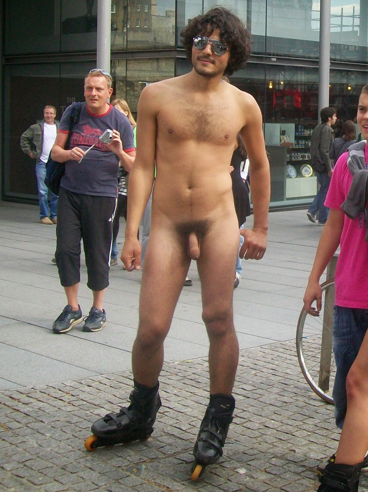 Naked Black Men Outside