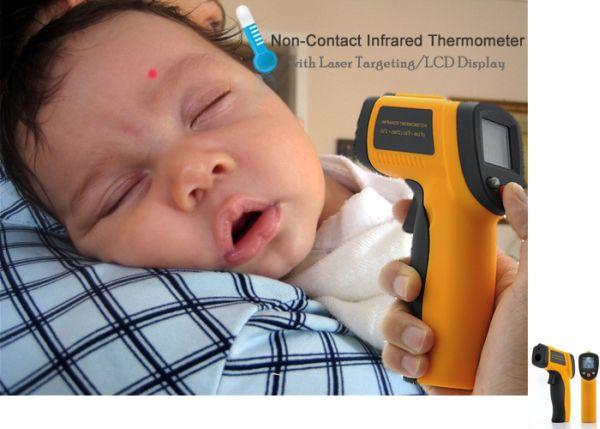 Verifique la temperatura con termómetros a distancia y sin ...