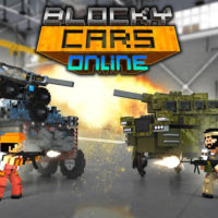 Blocky Cars Online – Money Mod Apk