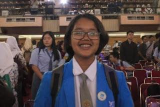 Tesalonika P Hutapea, Siswa SMA Unggul Del Raih Medali Perak di Ajang I-EMC