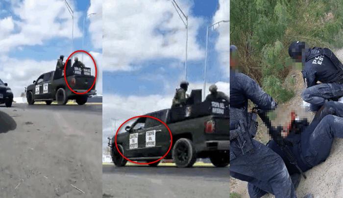 """Empecherados de """"Tropa del infierno"""" celula del CDN embosca, rafaguea y rematan a Estatales en Nuevo Laredo; dos policías heridos"""