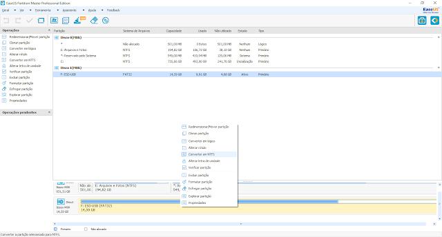 Conheça o EaseUS Partition Master 12.9, a ferramenta de particionamento da EaseUS.