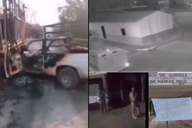 Video: Así fue el ataque de El Cártel Jalisco Nueva Generación en tierra donde nació de El Mencho