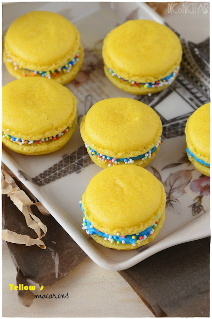 Yellow´s macarons