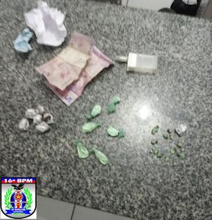 Urbano Santos: Menores são apreendidos comercializando drogas