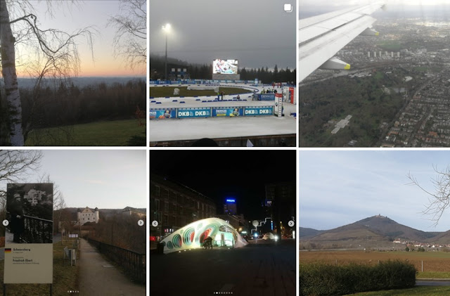 Collage Instagram-Fotos Januar 2020