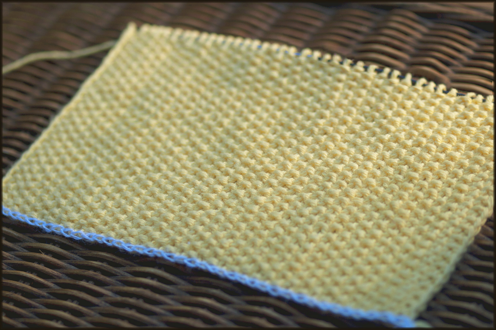 Wyndlestraw Designs: Market Bag Knit-along #4 - Stitches and Selvedges
