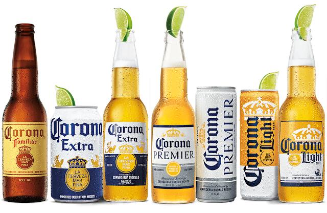 全球前十大啤酒品牌 - Corona 可樂娜啤酒