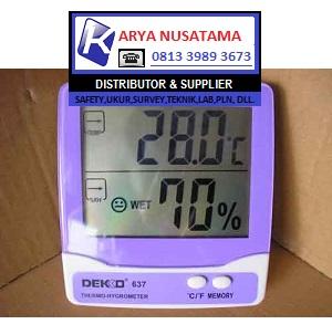 Jual Dekko 637 Thermohygrometer Indoor di Makasar