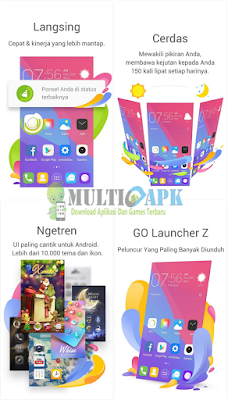 Go Launcher Theme and Wallpaper v2.25 Pro Apk