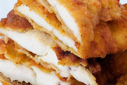 DELICIOUS FRIED CHICKEN BREASTS