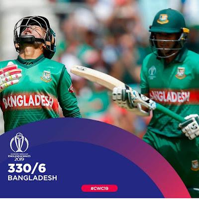 Bangladesh 330 for 6
