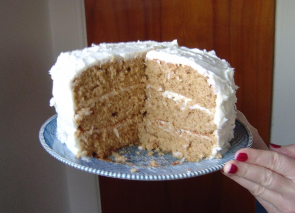 My Best Spice Layer Cake cut