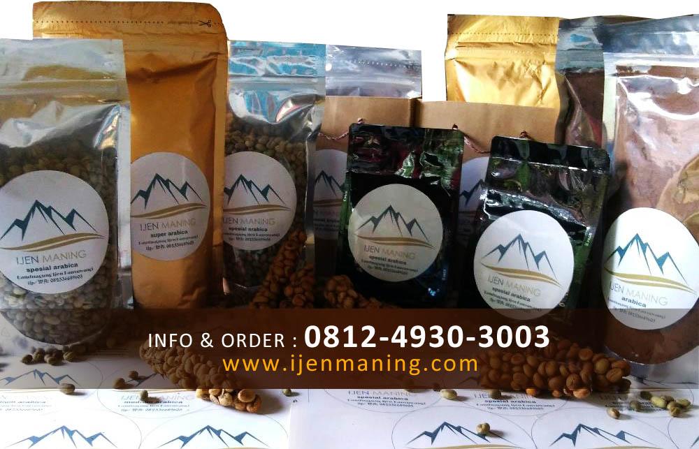 kopi ijen maning, kopi luwak arabika, kopi luwak robusta, kopi asli, kopi murni,