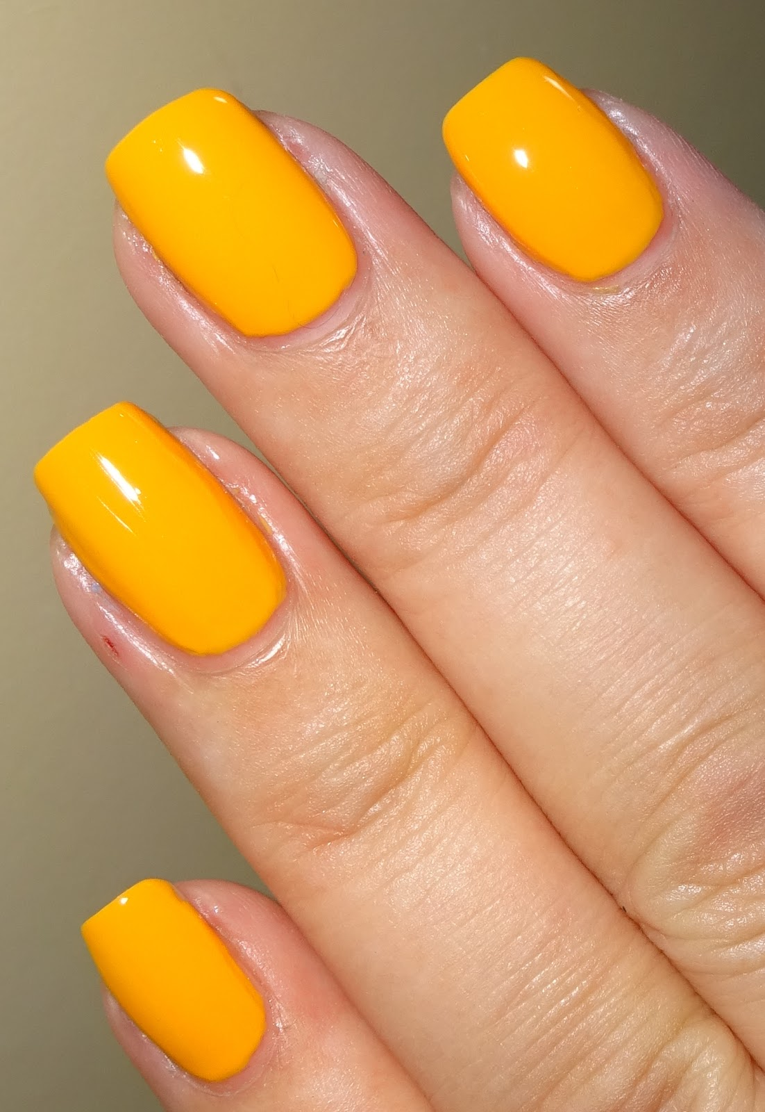 Wendy\'s Delights: W7 Nail Polish - Mango