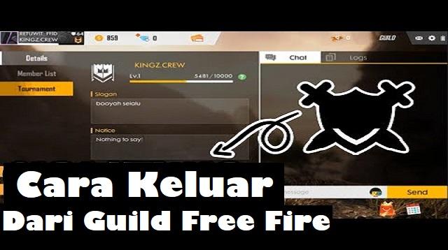 Cara Keluar dari Guild Fre Fire