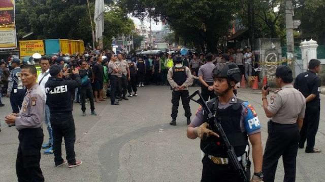 Geger Tas Mencurigakan, Polisi Tutup Separuh Jalan Kartini Depok