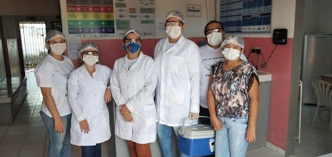 SÃO JOSÉ DOS RAMOS: Secretaria de Saúde realiza campanha de vacinação contra influenza..