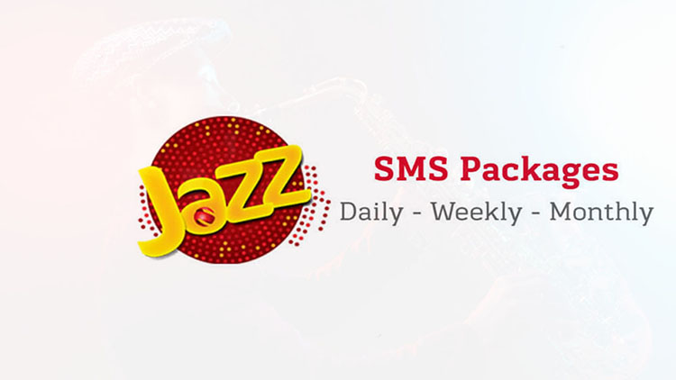 Jazz Daily Weekly Monthly Sms Packages 2020